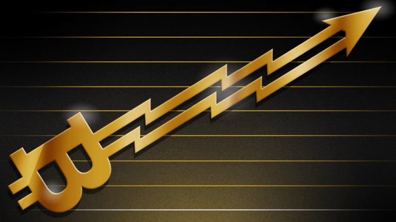 Bitcoin growing higher
