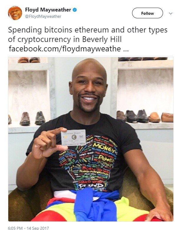 floyd mayweather crypto ico