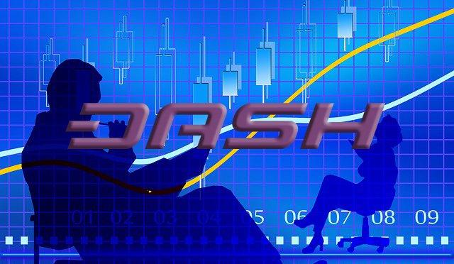 dash trading price