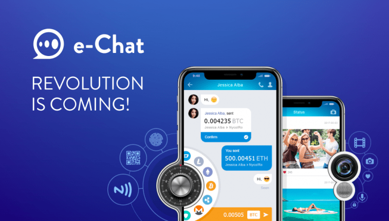 Will New Messenger E-Chat soon dominate Chinese market