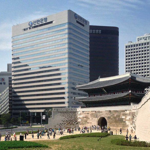 shinhan bank vault