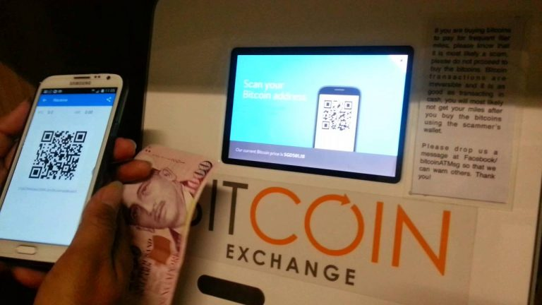 No ban in Singapore as Bitcoin ATMs run dry