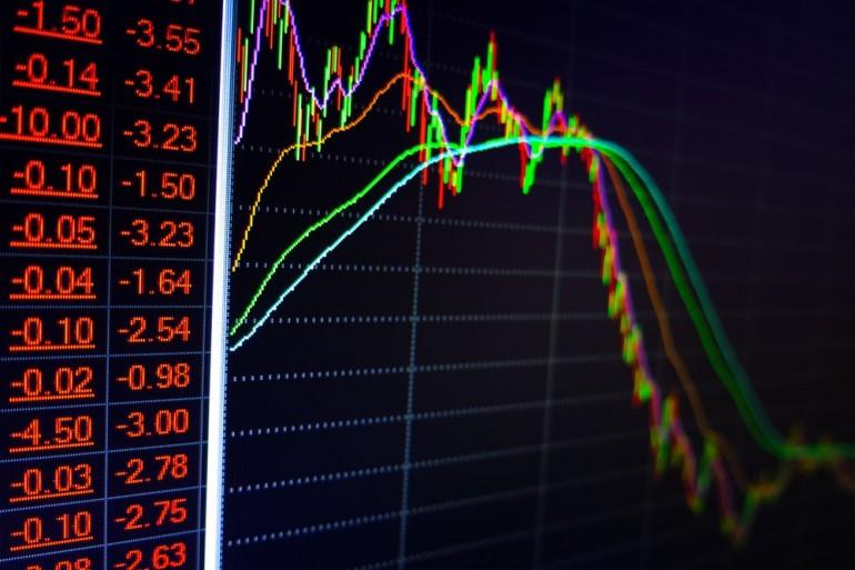 Crypto markets down