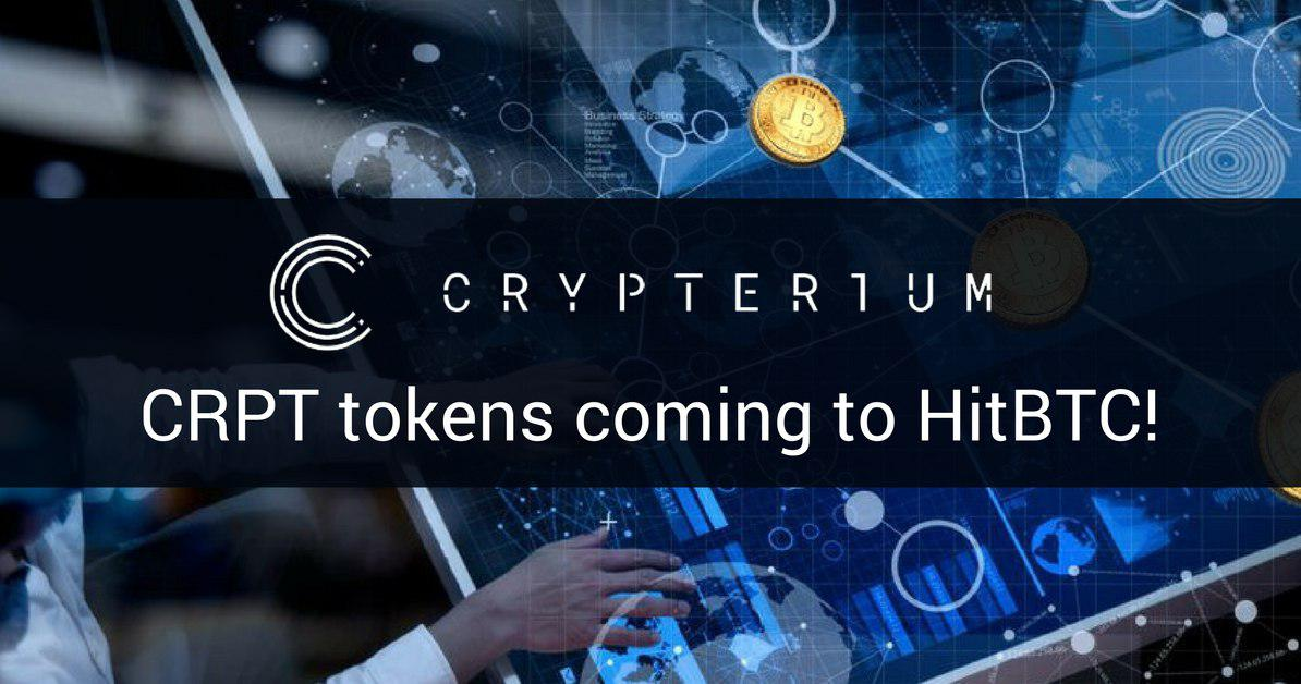 Amazing Crypterium (CRPT) To Be Listed On HitBTC 13