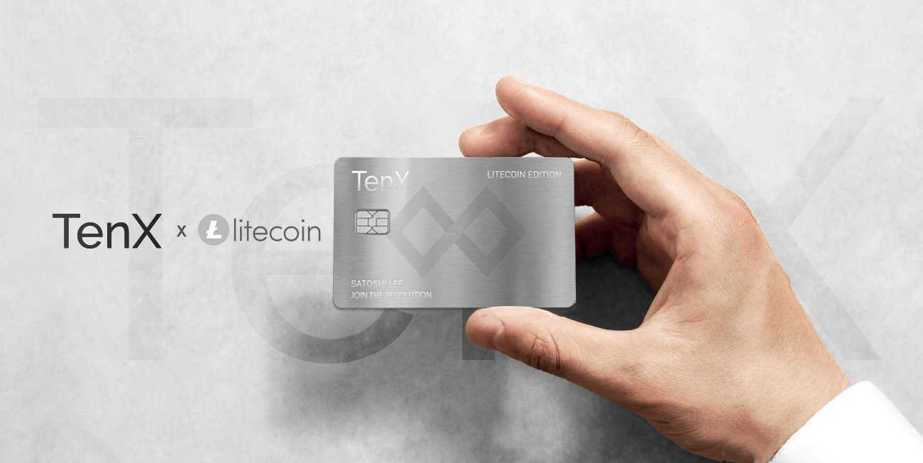 Tenx Adds Litecoin [LTC] To Its Wallet App, To Produce Litecoin Debit Card 13