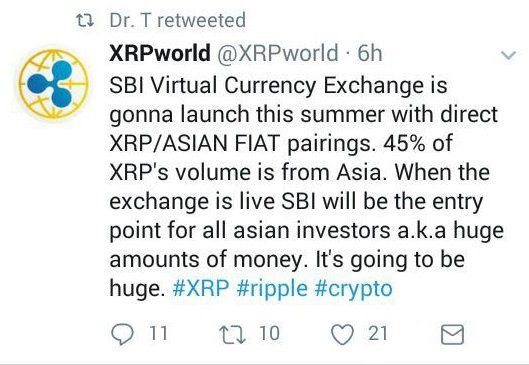 Pending SBI Holdings Crypto Exchange To Spearhead Moon Landing For Ripple (XRP) 13