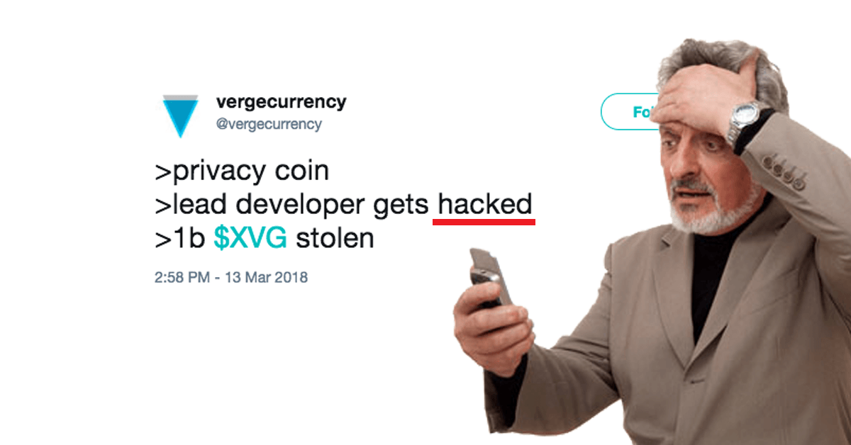 Verge (XVG) Suffers Another Blow From Hackers 1