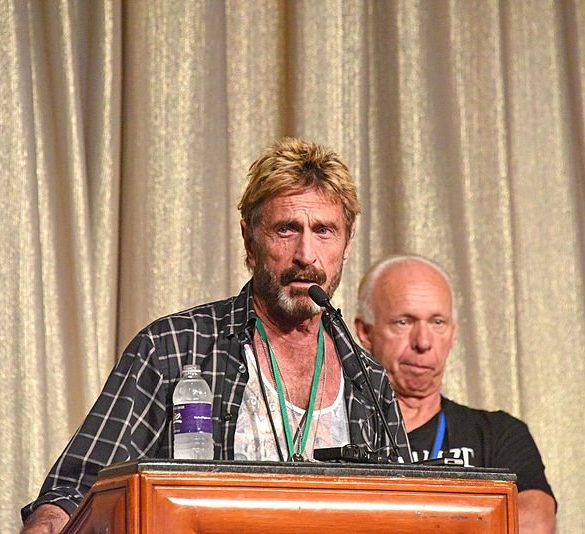 John McAfee Cancels Conference Appearance Due to Death Threats 13