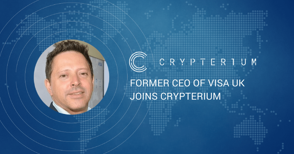 Crypterium (CRPT) Receives A Major Boost as Ex-VISA CEO Joins The Team 14