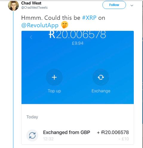 Revolut App From The UK, To List Ripple (XRP) This Week 14