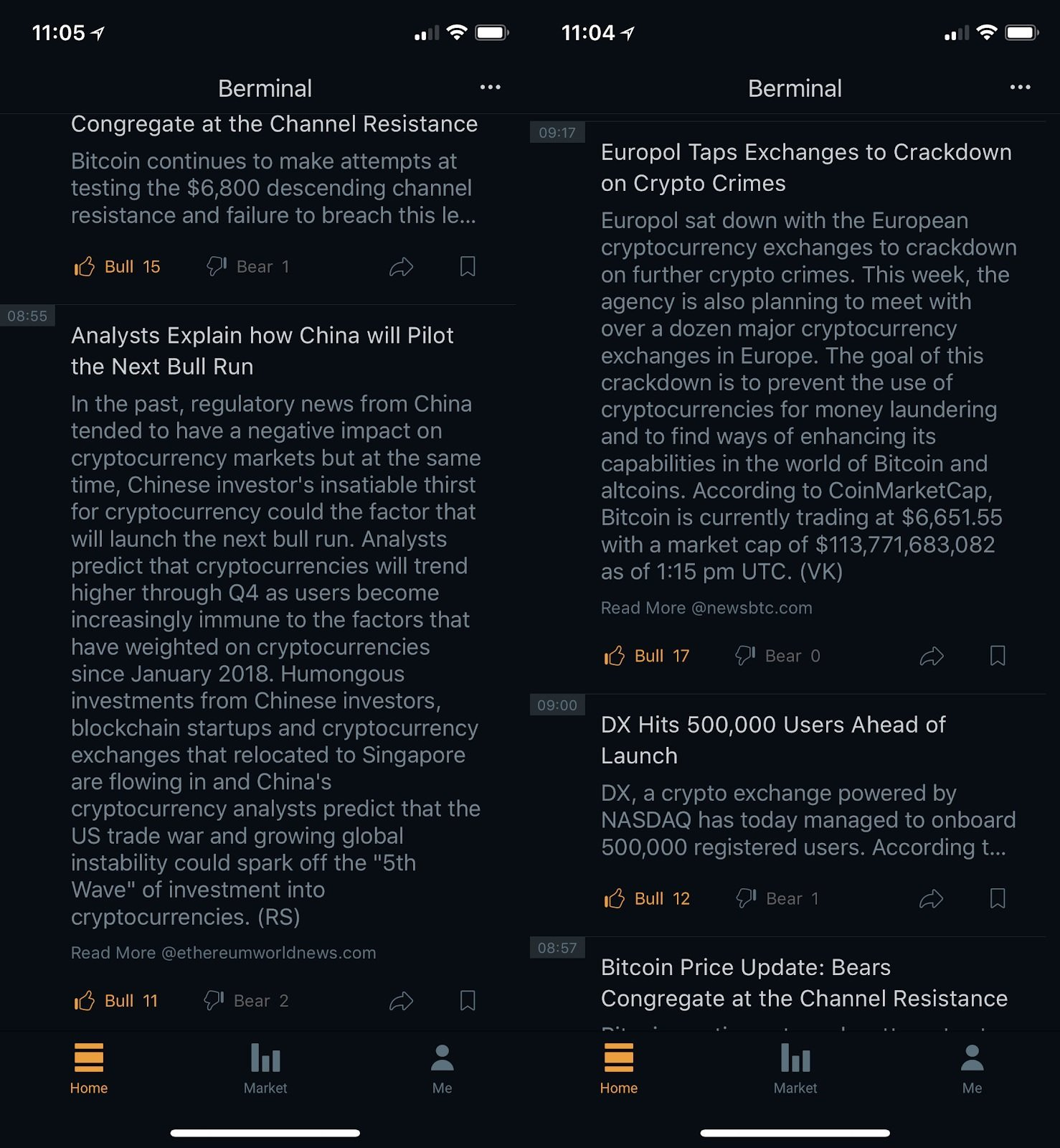 Berminal App: Your Gateway to Instant Crypto News That Affect the Crypto Markets 15