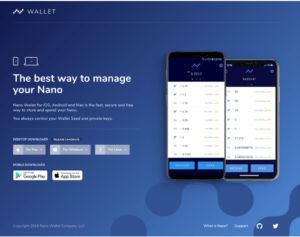 NANO Wallet Release