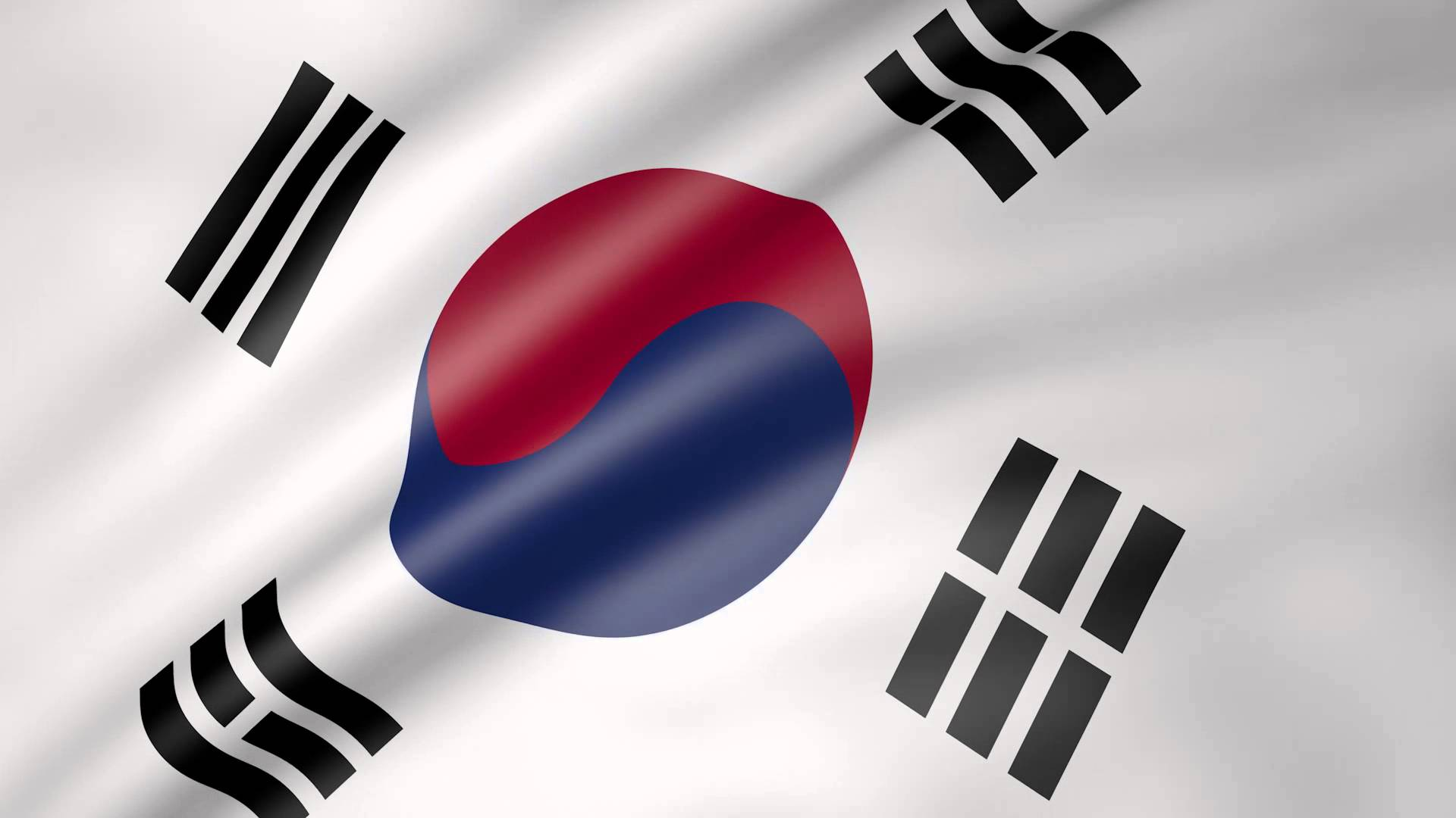 The korean government and supreme court have separate - Picture of a korean flag ...