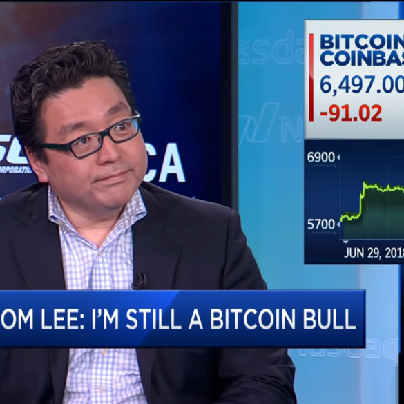 Tom Lee Clarifies: He Mantains His Prediction of BTC at 25K by The End of The Year 15