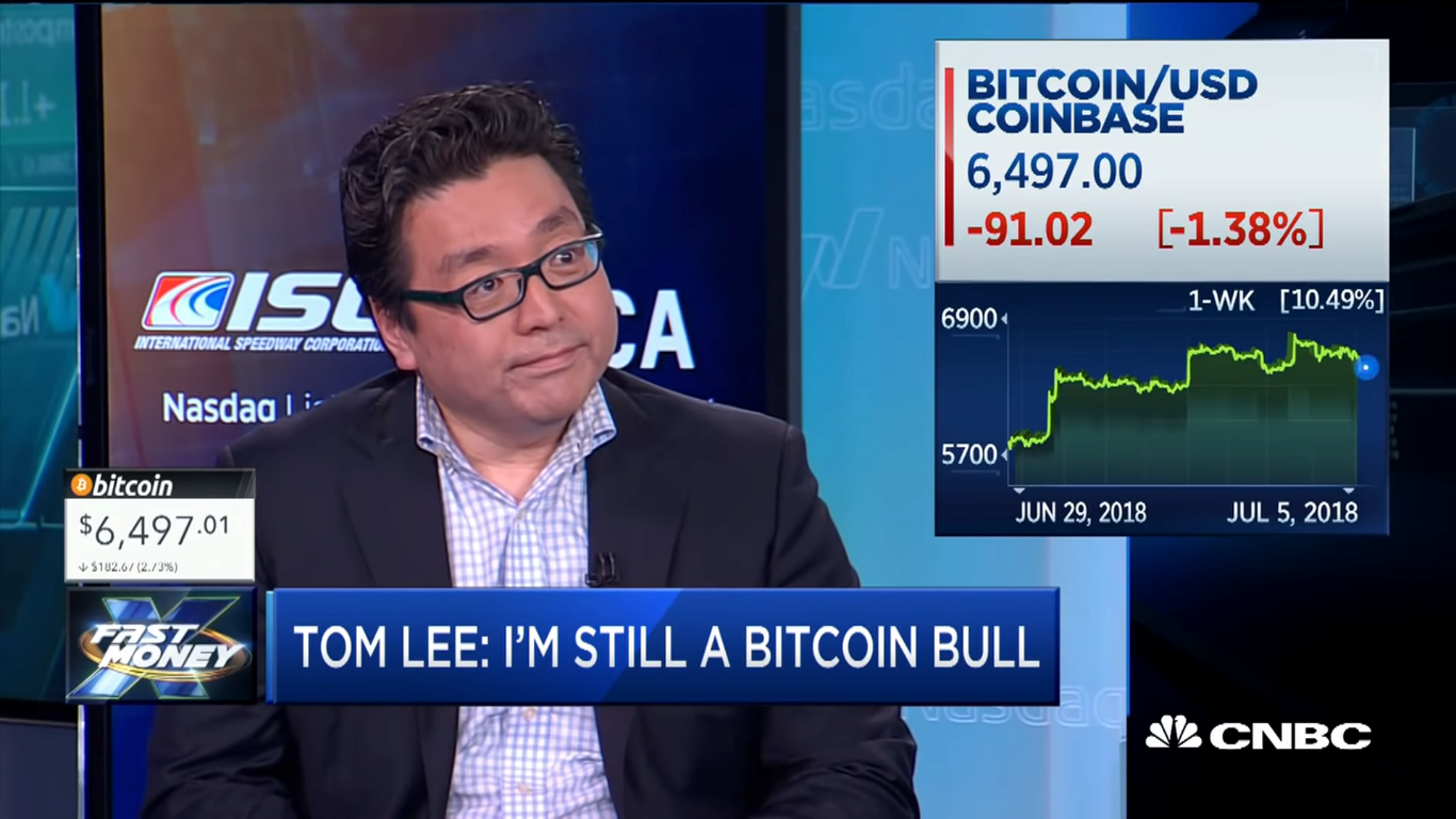Tom Lee Clarifies: He Mantains His Prediction of BTC at 25K by The End of The Year 13