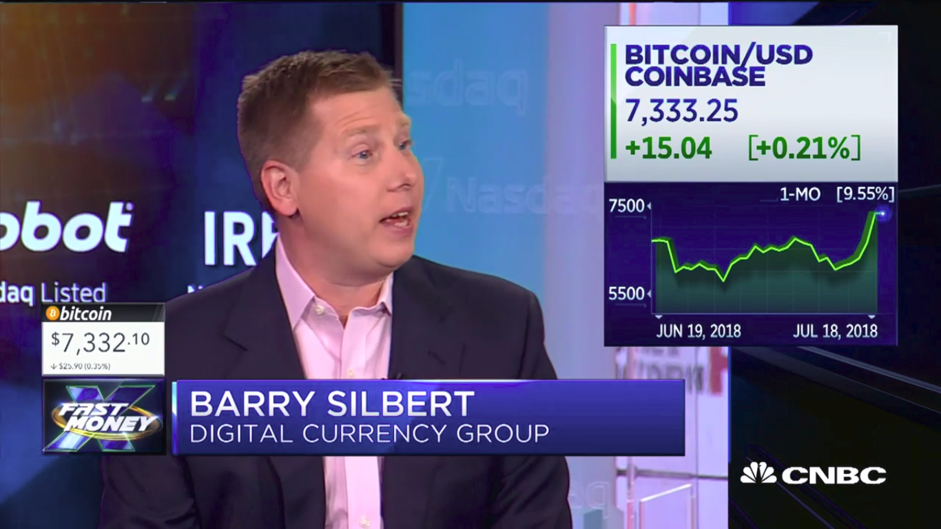 """Digital Currency Group CEO: Bitcoin Has """"Hit The Bottom for The Year"""" 15"""