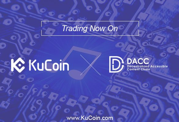 DACC Token Today Is Available At KuCoin Blockchain Asset Exchange Market