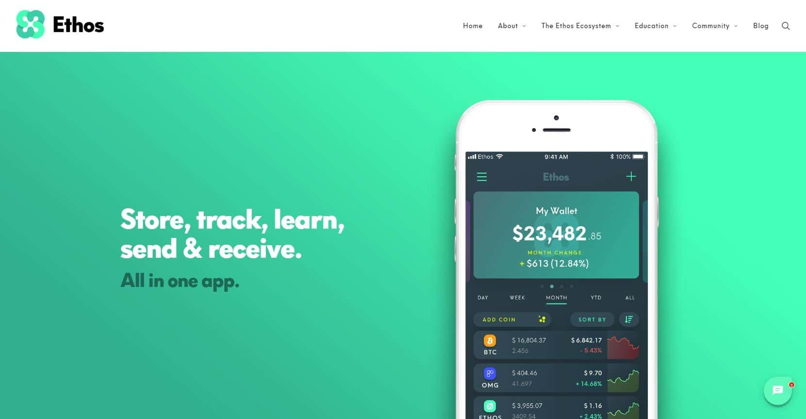Ethos Jumps Up 50% After U.S. Release of The 'Universal Wallet' 14