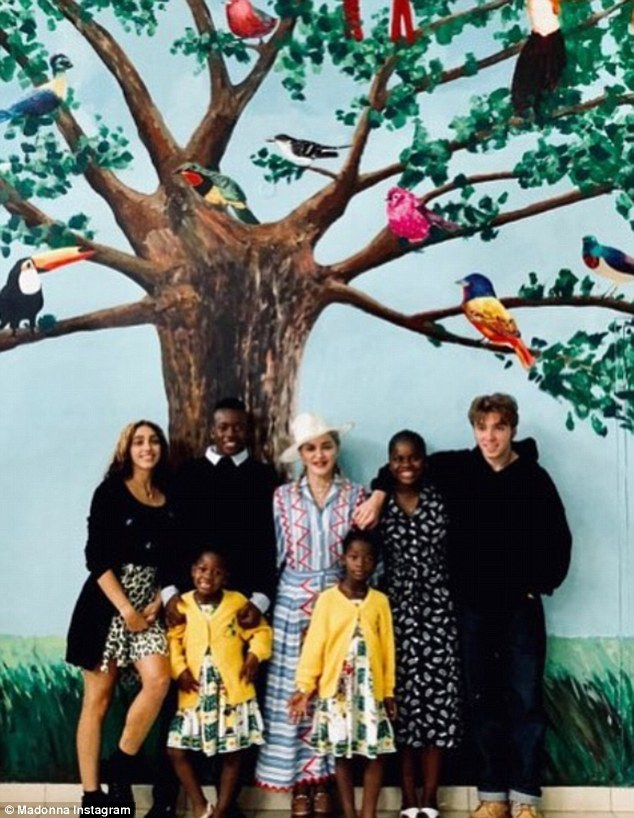 Ripple partners With Madonna on her 60th Birthday to Raise Funds for Vulnerable Children In Malawi 1