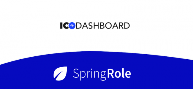 SpringRole Will Provide Advisor Verifications to ICODashboard