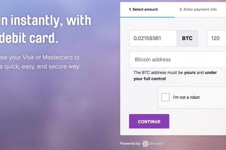 Bitcoin Purchase with Credit/Debit Cards on Abra 16
