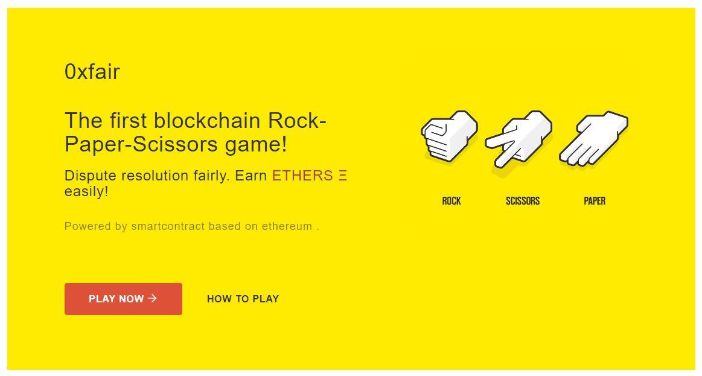 Can Rock, Paper, Scissors Save The Ethereum (ETH) DApp Landscape? 15