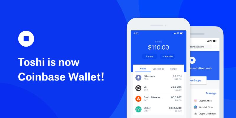 """""""Goodbye Toshi, Hello Coinbase Wallet"""" — Coinbase Revamps Mobile App 14"""