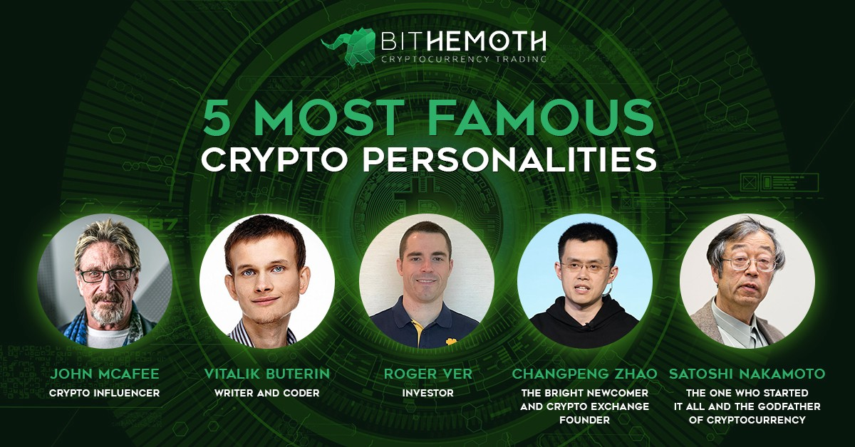 John McAfee & Ethereum (ETH) Founder Vitalik Buterin Atop 5 Most Famous Crypto Personalities 13