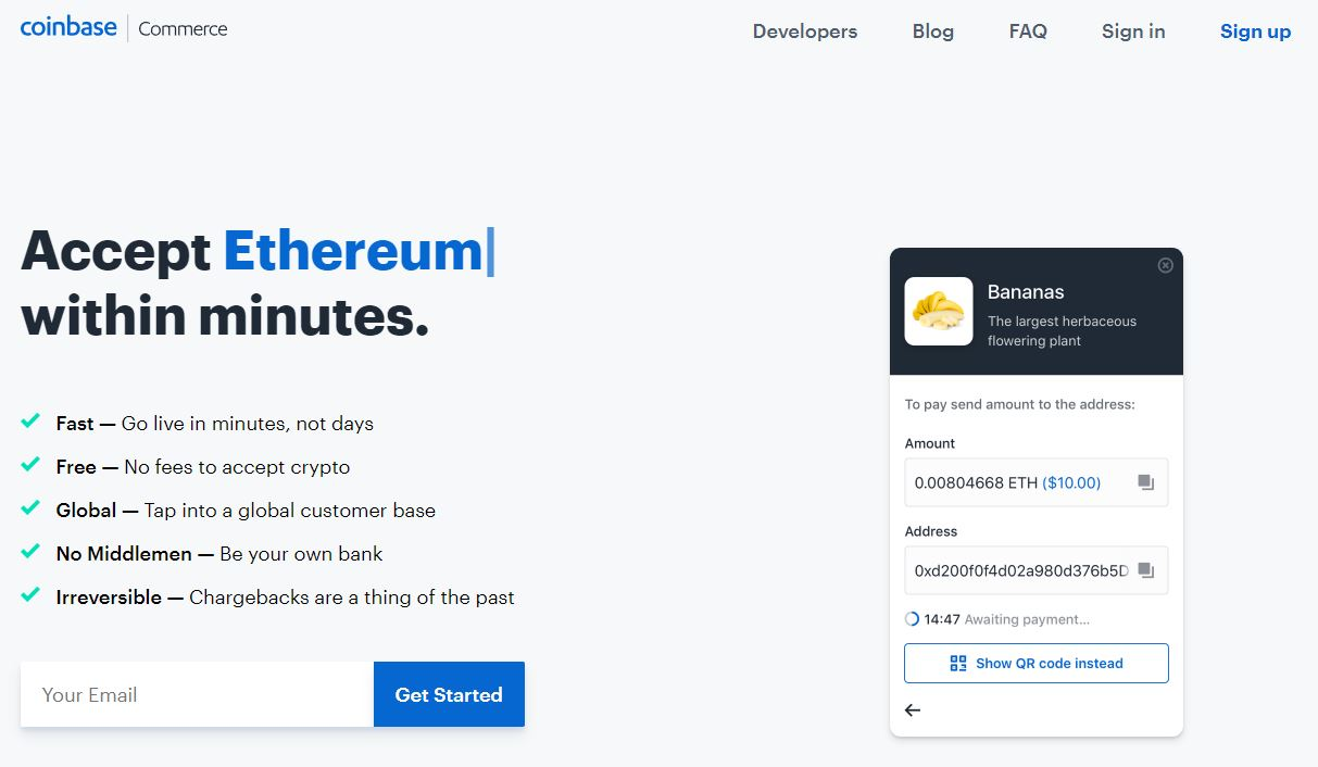 2.7M Online Stores Can Accept BTC, LTC, ETH Via Coinbase Commerce 14
