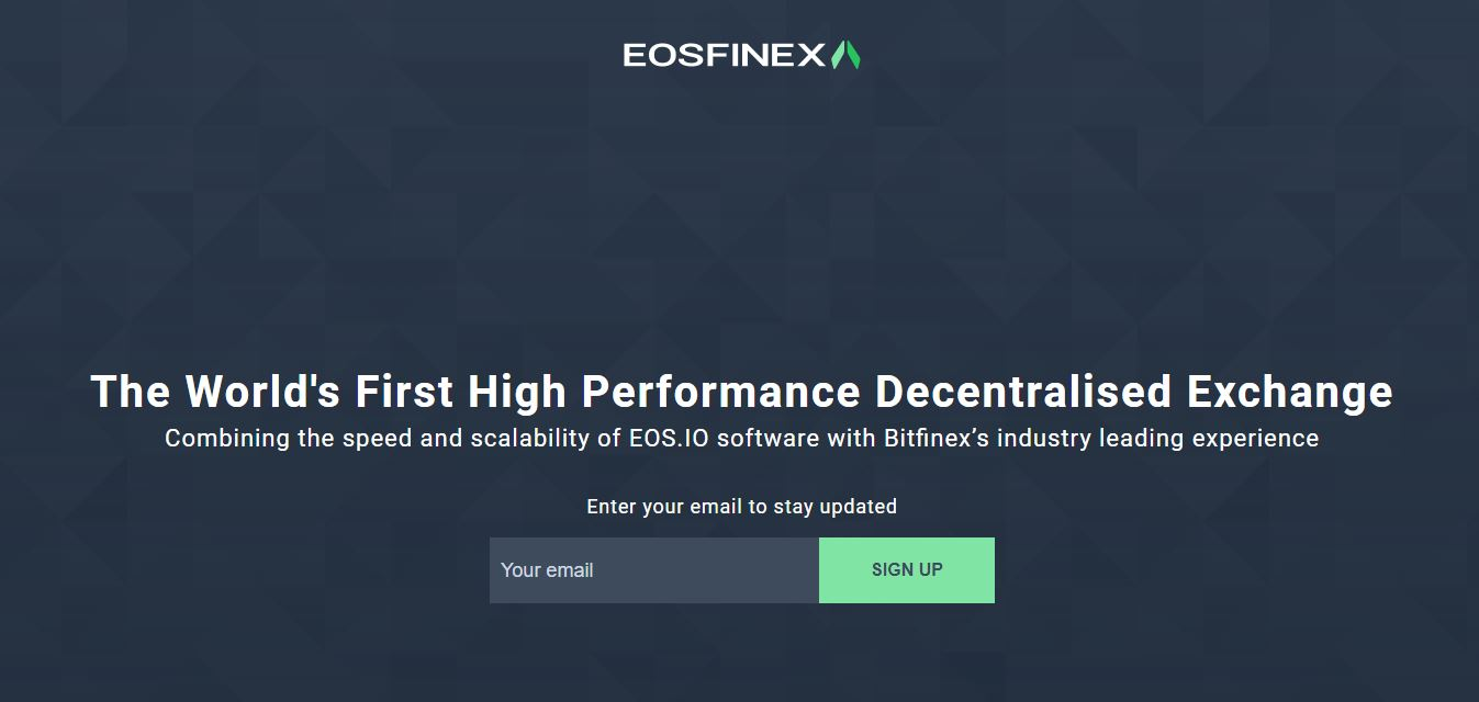 More Excitement in Q3 of 2018 as Bitfinex Is Working on A Decentralized Exchange Built on EOS 13