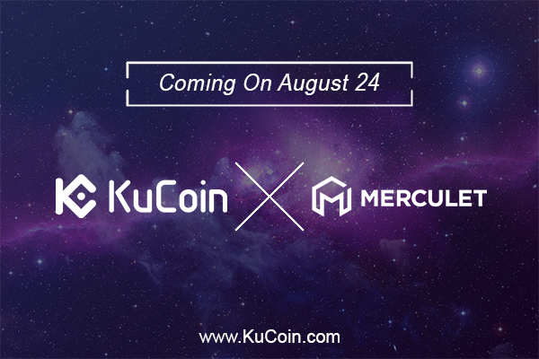 Merculet (MVP) Today Got Listed At KuCoin Cryptocurrency Exchange Market