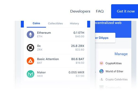 Coinbase Displays Maker (MKR), 0x (ZRX), Basic Attention Token (BAT) On Its Newly Converted Toshi Wallet 13
