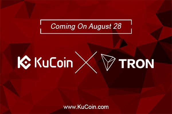 KuCoin Announces Tron (TRX) As One Of Their Promising Currencies