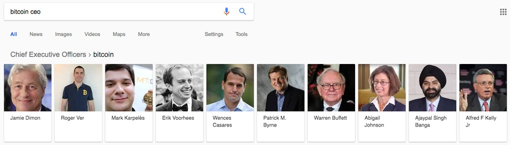 Really? Google Thinks Crypto Is Not Real Money and Warren Buffet is The CEO of Bitcoin 16