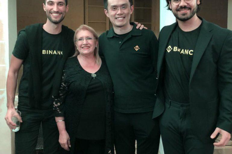 Binance's CEO and Team, attend Malta's First Ever Blockchain Summit 15