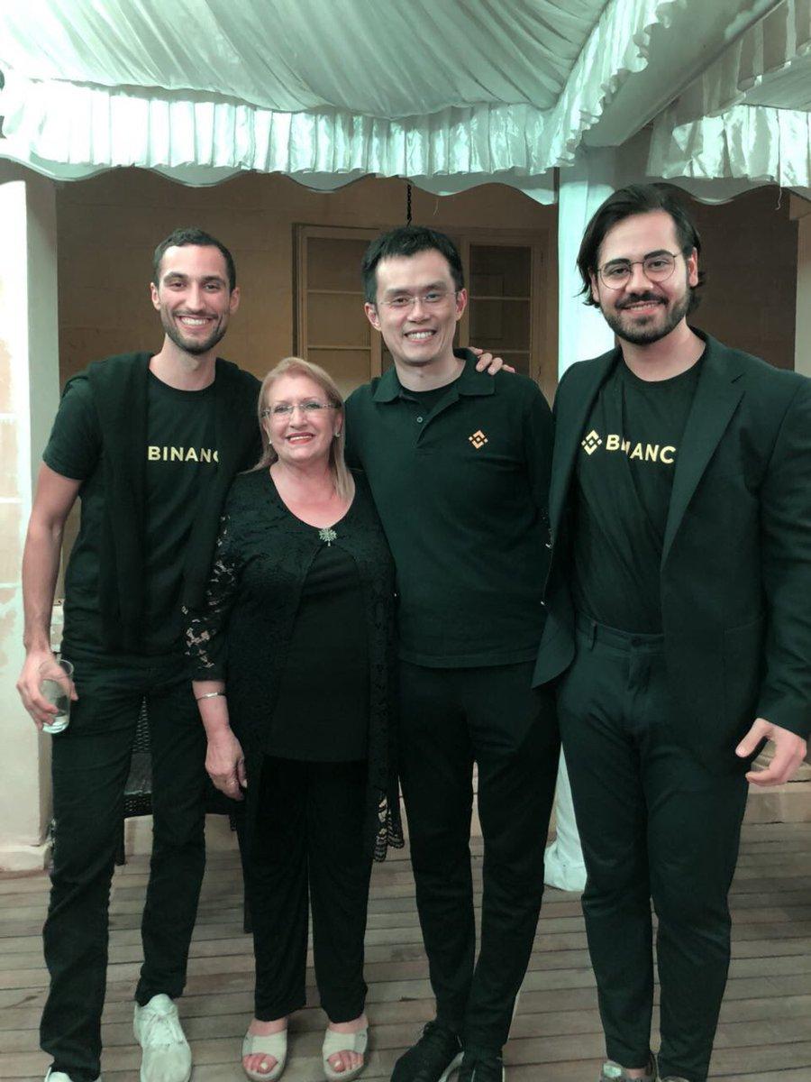 Binance's CEO and Team, attend Malta's First Ever Blockchain Summit 13