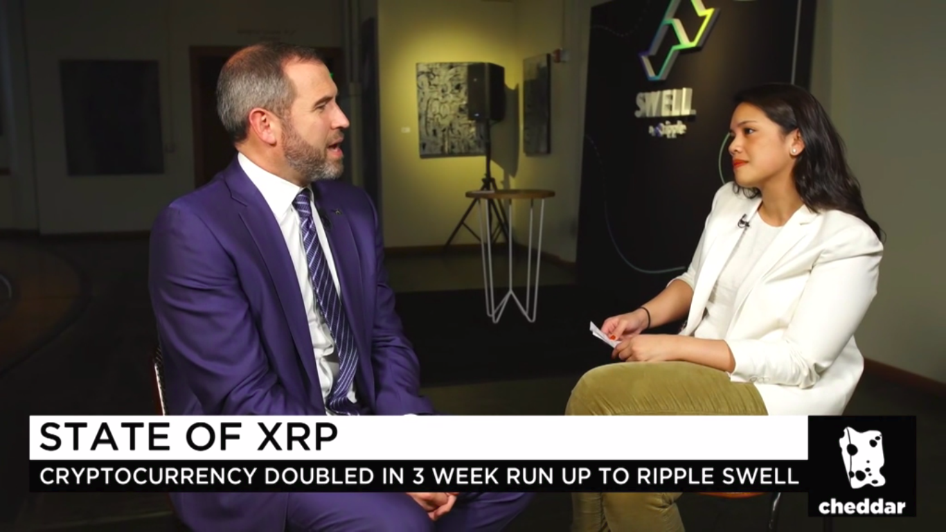 """Ripple CEO about Why XRP is Better than BTC: """"It's 1000 Times faster and Cheaper"""" 13"""