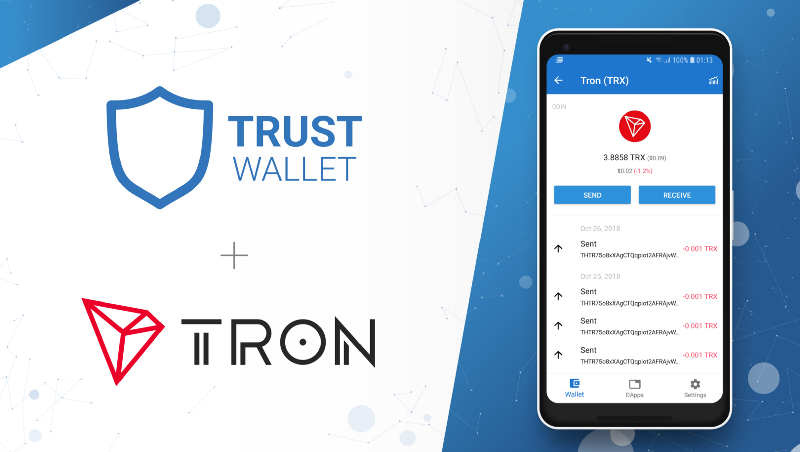 TRON (TRX) is Now Supported on the Trust Wallet Backed by Binance 13