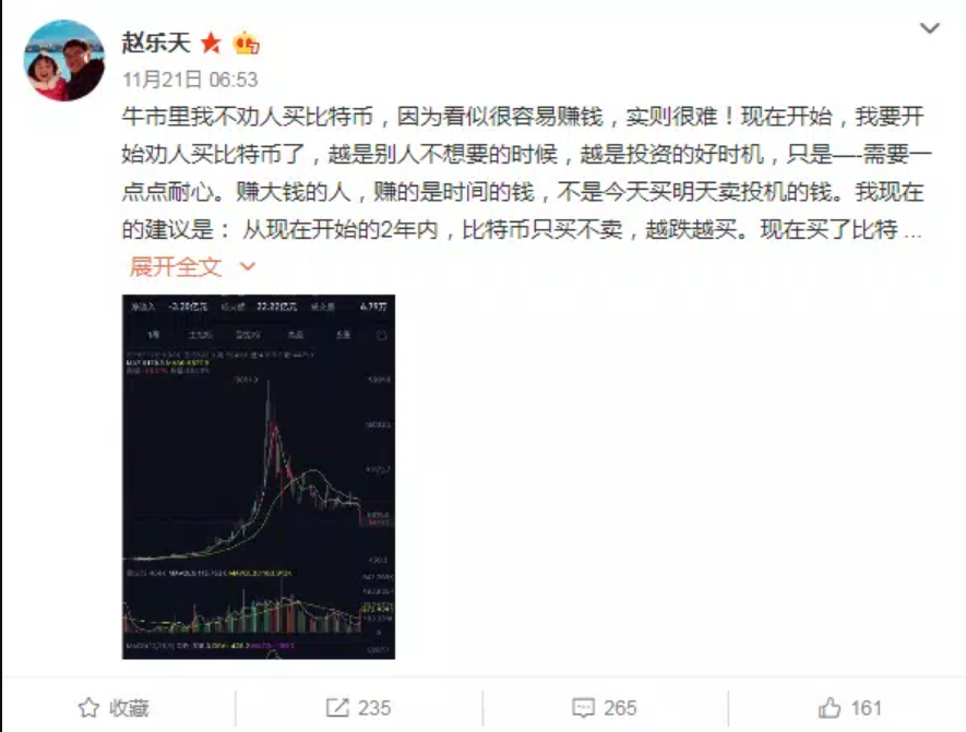 Bitcoin BTC to 50k in 3 Years. Chinese Billionaire Zhao Dong Predicts 14