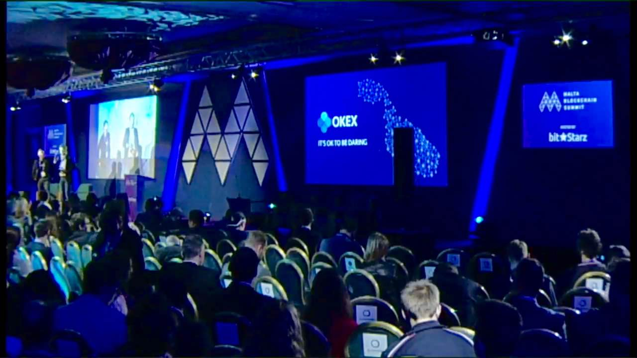 "OKEx Beats Binance and Wins the Title of ""Crypto Exchange of the Year"" at Malta's Cryptocurrency Conference 14"