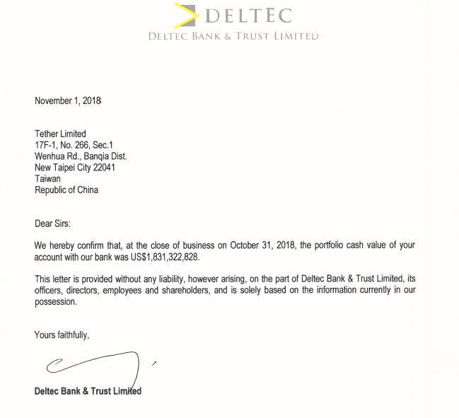 Breaking: Tether (USDT) Confirms its Banking Balance and New Bank Account in the Bahamas 16
