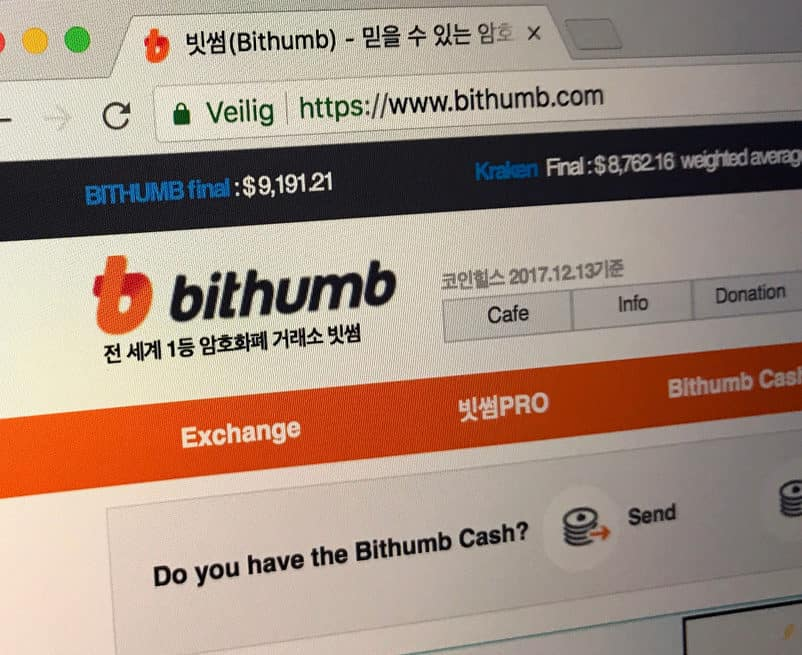 Bithumb Set to Establish Exchange Platform for Security Tokens in the United States 13