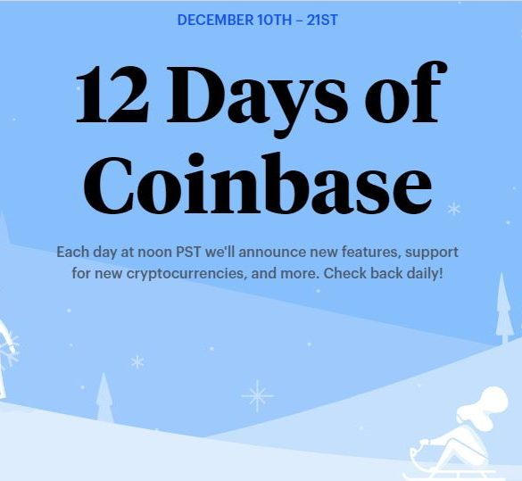 What to Expect from 'The 12 Days of Coinbase' Event 13