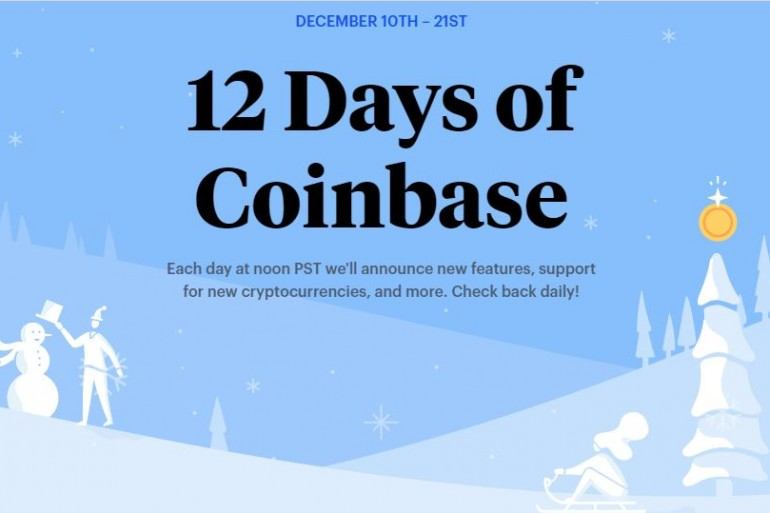What to Expect from 'The 12 Days of Coinbase' Event 18