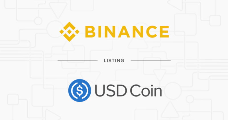 Binance Adds USD Coin (USDC) to its Combined Stablecoin Market (USDⓈ) 16