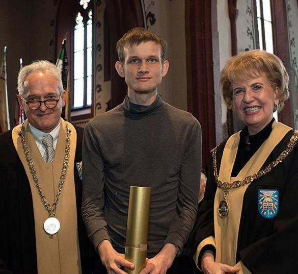 Ethereum (ETH) Co-Founder Vitalik Buterin, Awarded Honorary Doctorate by the University of Basel 13