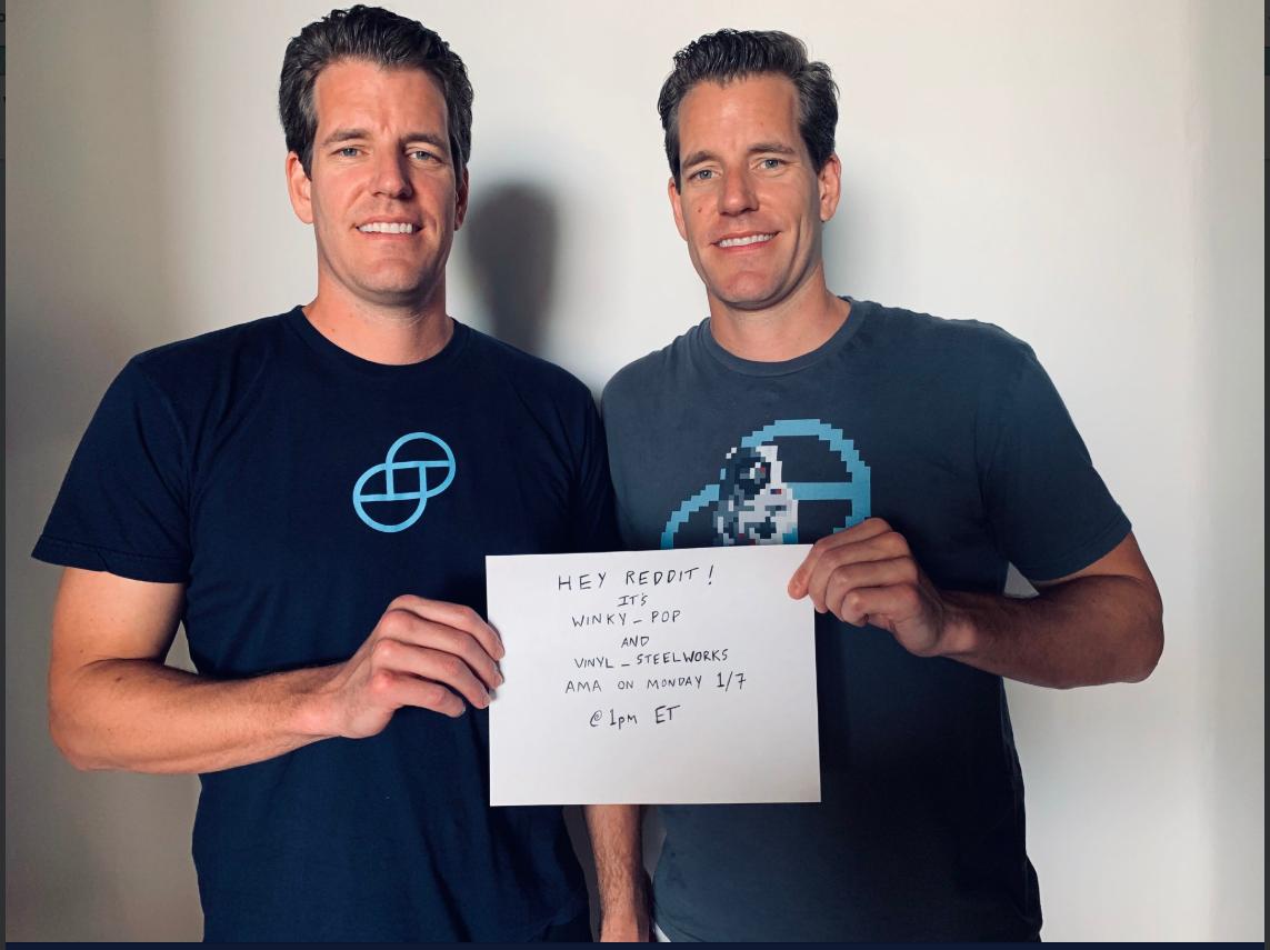 Winklevoss Twins Bitcoin ETF