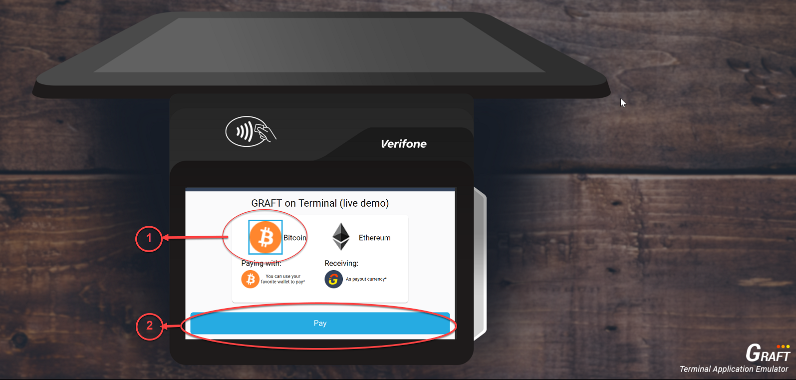GRAFT NETWORK Announces the Release of the Pay-In Exchange Broker Component for Verifone Payment Terminals 1