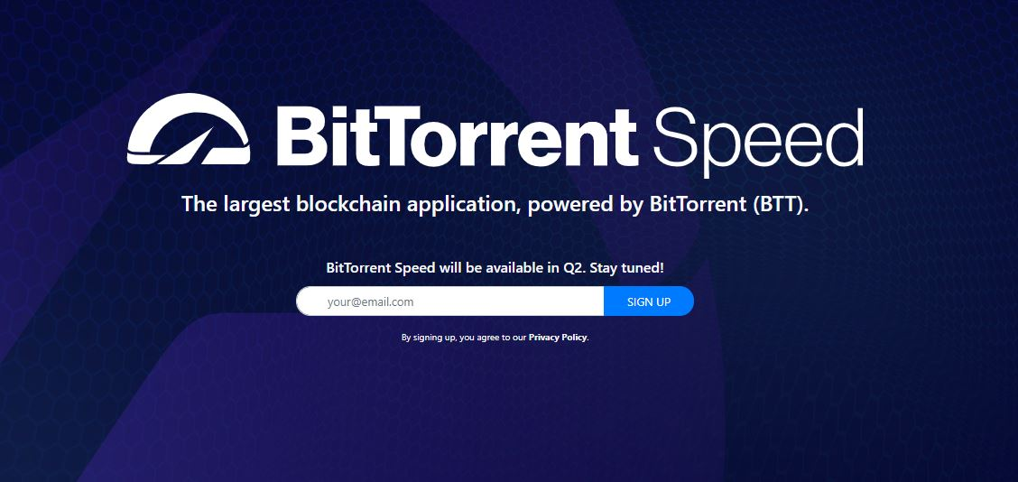 BTT Rewards for Seeding on BitTorrent Could Go Live by Q2, 2019 - Ethereum World News