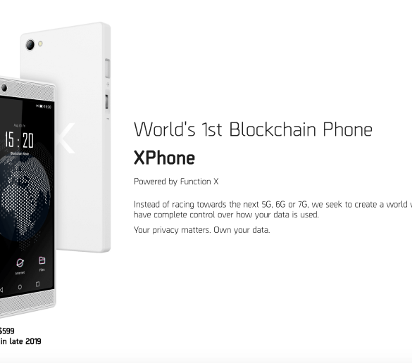 XPhone by Pundi X (NPXS) Allows You To Switch Between Blockchain and Android 15